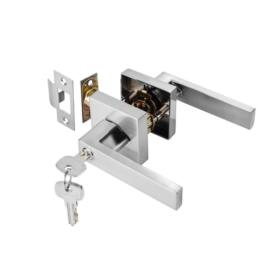 Bộ khóa tay nắm cửa đi dạng thẳng